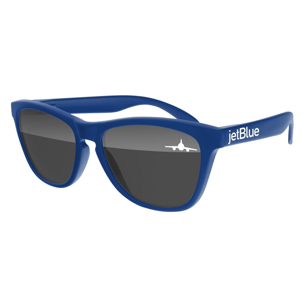 Travel - FD510 - Frog Promotional Sunglasses w/ 1-color lens & temple imprint