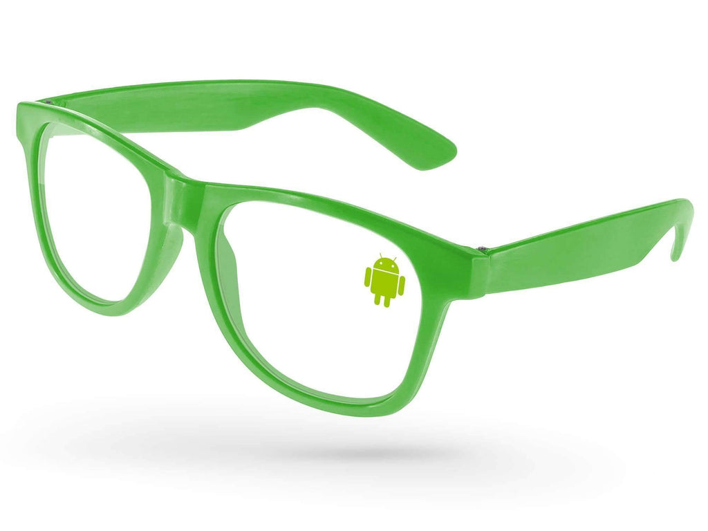 RC500-P - Value Retro Eyeglasses w/ 1-color lens imprint