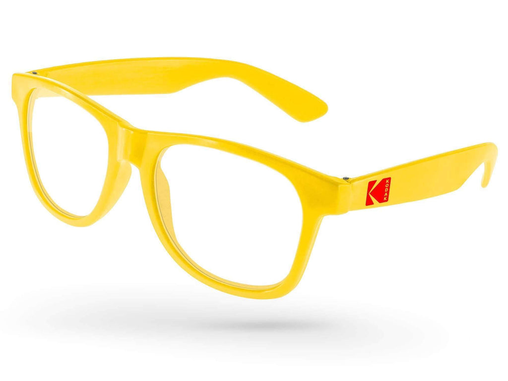 RC010-P - Value Retro Eyeglasses w/ 1-color temple imprint