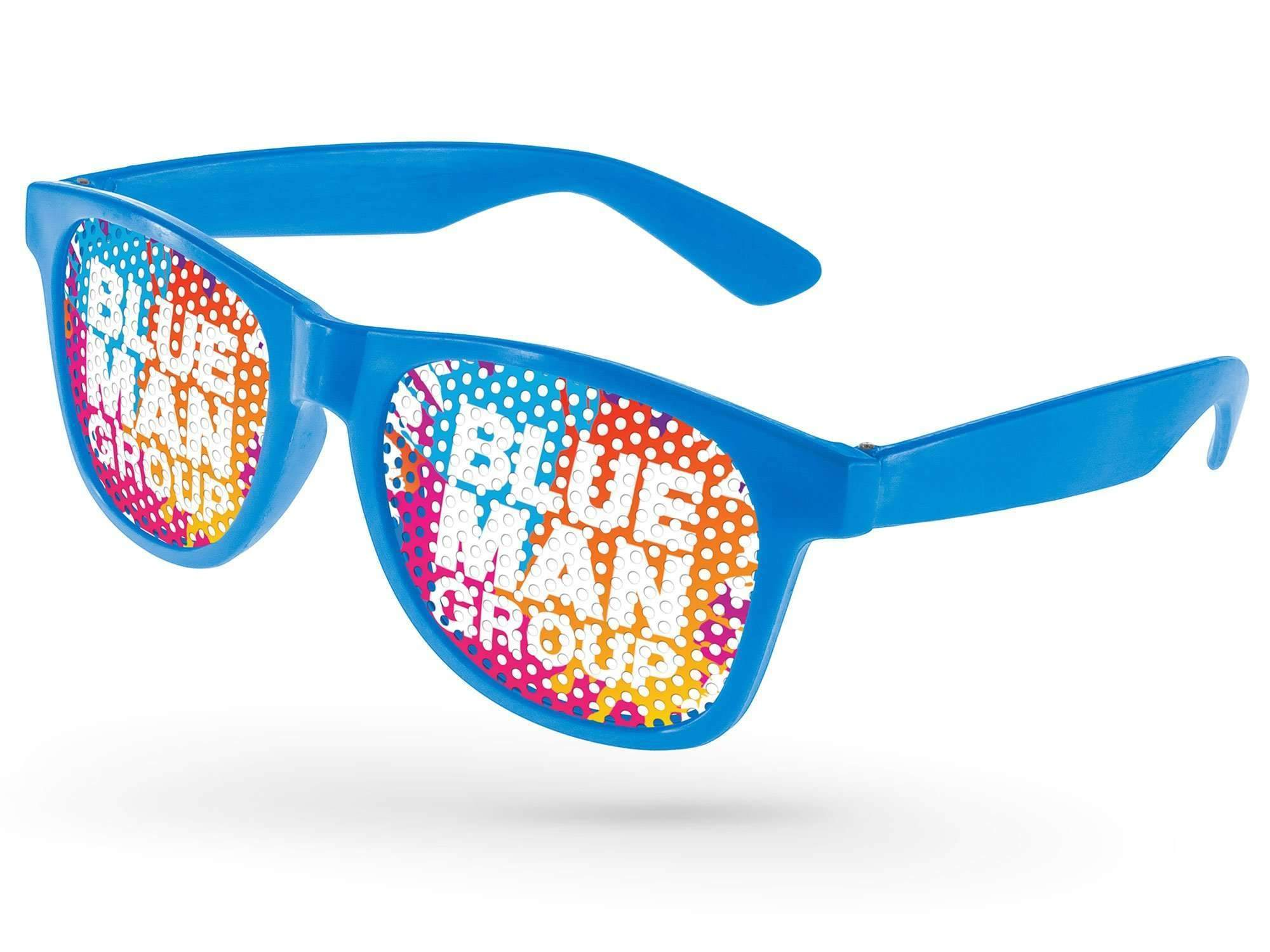 RC100-P - Value Retro Pinhole Promotional Sunglasses