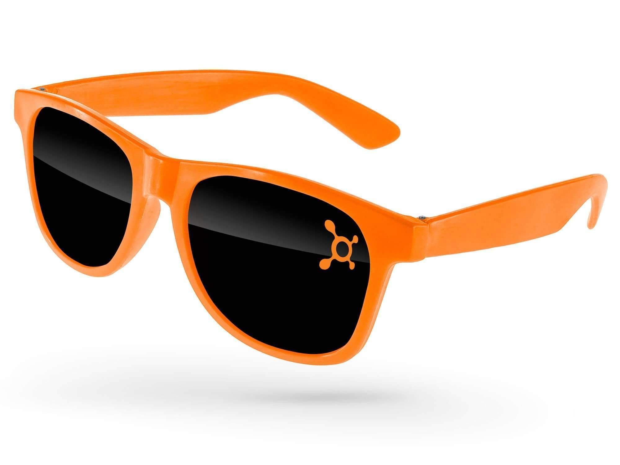 Value Retro Promotional Sunglasses w/ 1-color lens imprint