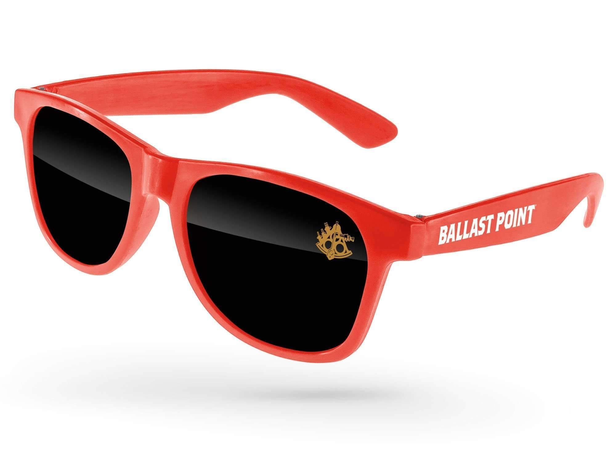 RD510-P - Value Retro Promotional Sunglasses w/ 1-color lens & temple imprint