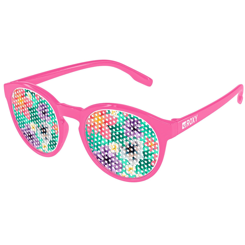 VC110 - Vicky Pinhole Promotional Sunglasses w/ 1-color temple imprint