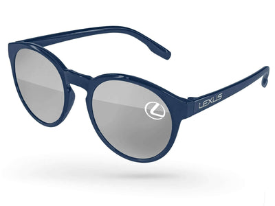 Vicky Mirror Promotional Sunglasses w/ 1-color lens imprint & full-color temple imprint