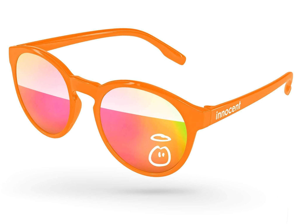 VM510 - Vicky Mirror Promotional Sunglasses w/ 1-color lens & temple imprint