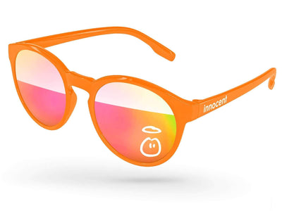 Vicky Mirror Promotional Sunglasses w/ 1-color lens & temple imprint