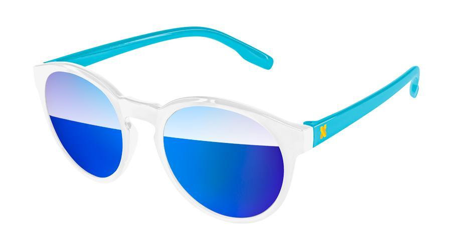 Vicky Mirror Promotional Sunglasses w/ 1-color temple imprint