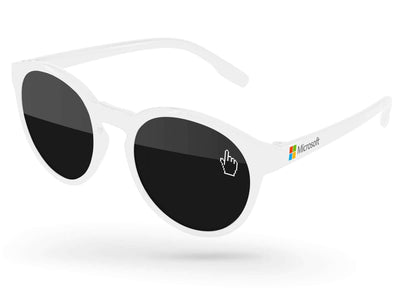 Vicky Promotional Sunglasses w/ 1-color lens imprint & full-color temple imprint