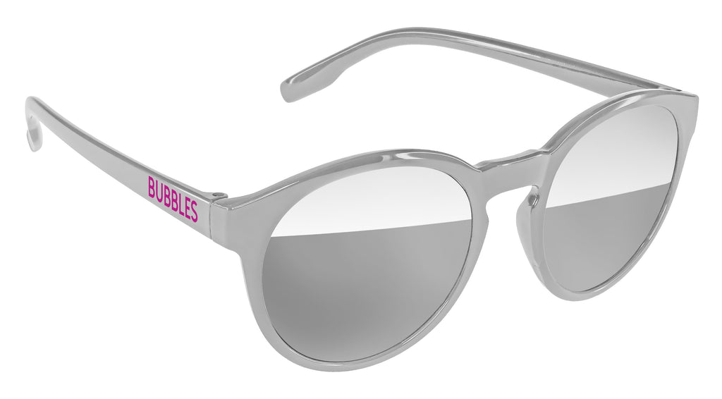 VM010-M - Metallic Vicky Mirror Promotional Sunglasses w/ 1-color temple imprint