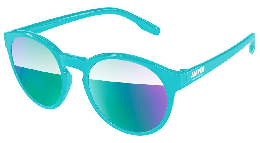 VM010 - Vicky Mirror Promotional Sunglasses w/ 1-color temple imprint