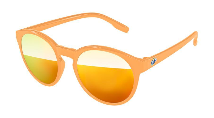 VM020 - Vicky Mirror Promotional Sunglasses w/ full-color temple imprint