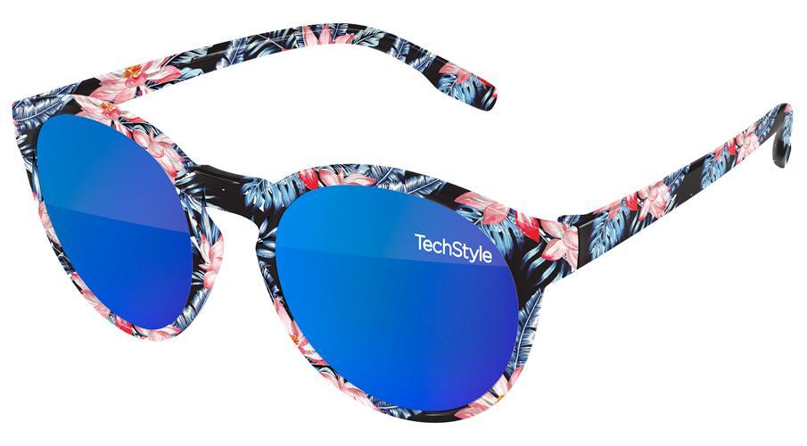 VM590 - Vicky Mirror Promotional Sunglasses w/ full-color full-frame sublimation wrap