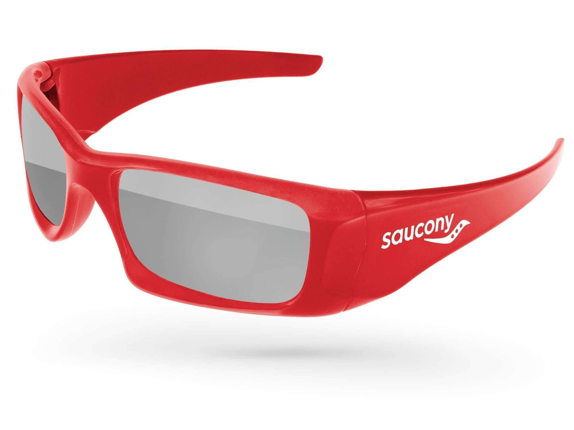 Wrap Mirror Promotional Sunglasses w/ 1-color temple imprint