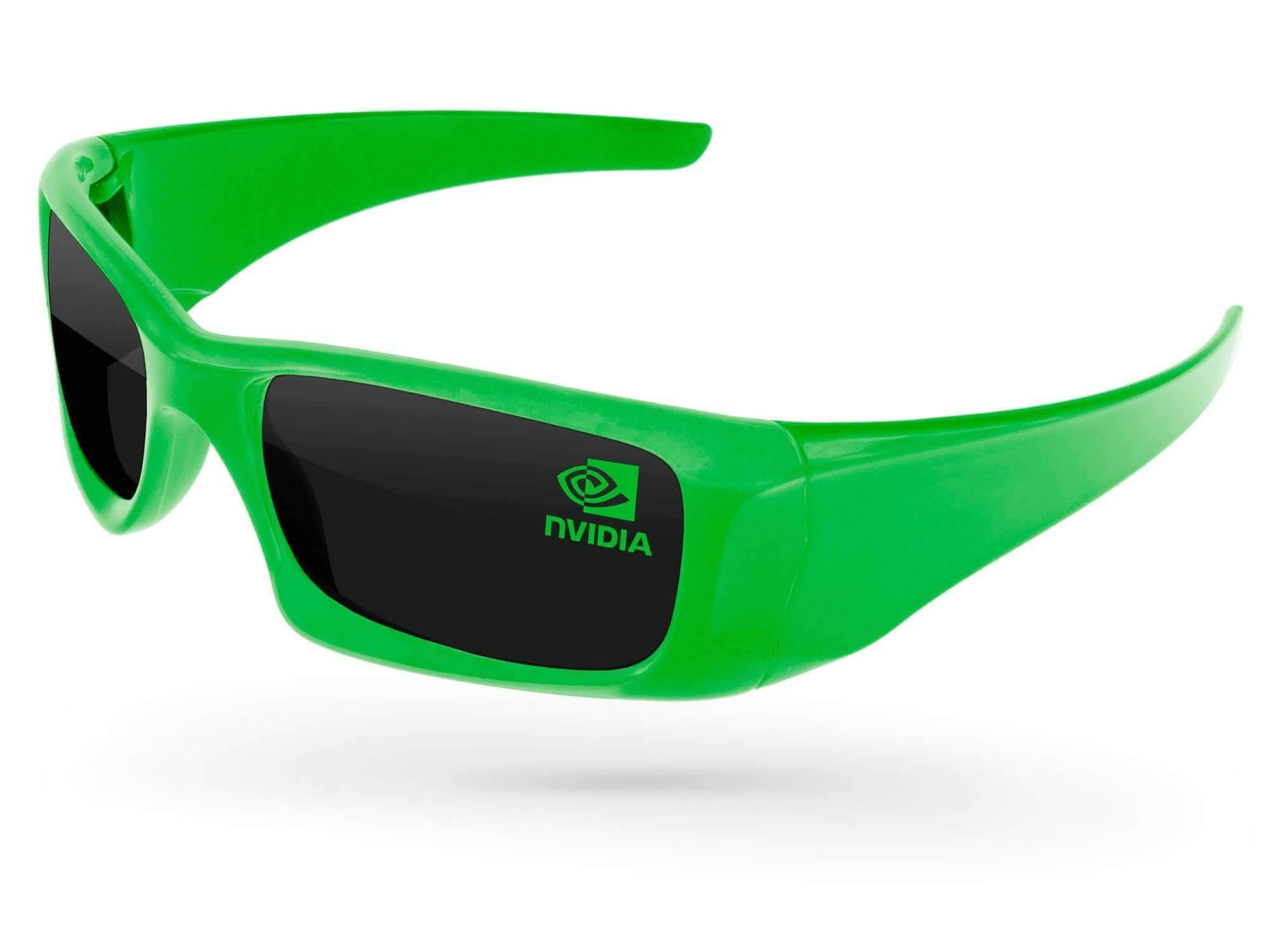 Wrap Promotional Sunglasses w/ 1-color lens imprint