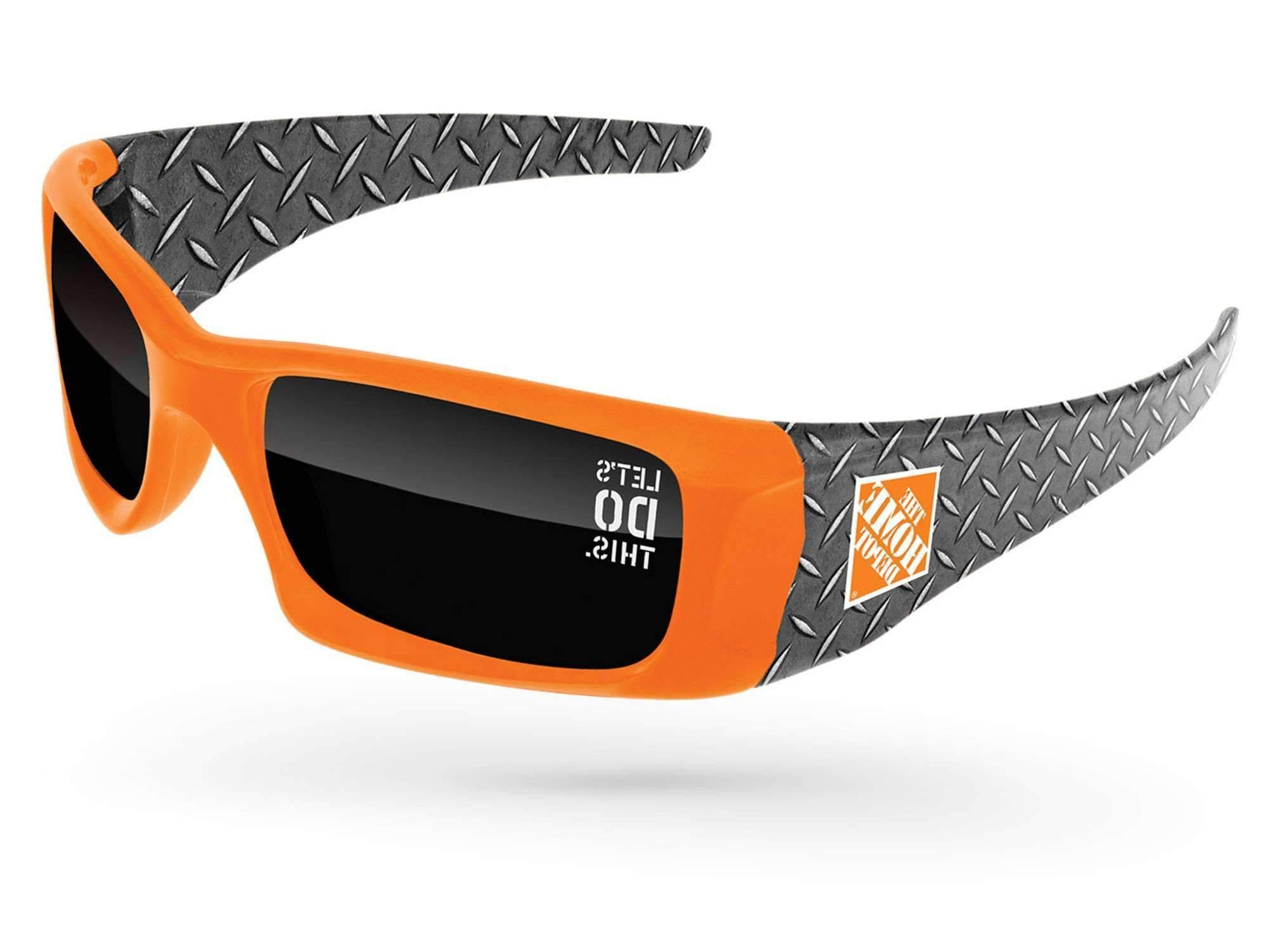 WD580 - Wrap Promotional Sunglasses w/ 1-color lens imprint & full-color arms sublimation wrap