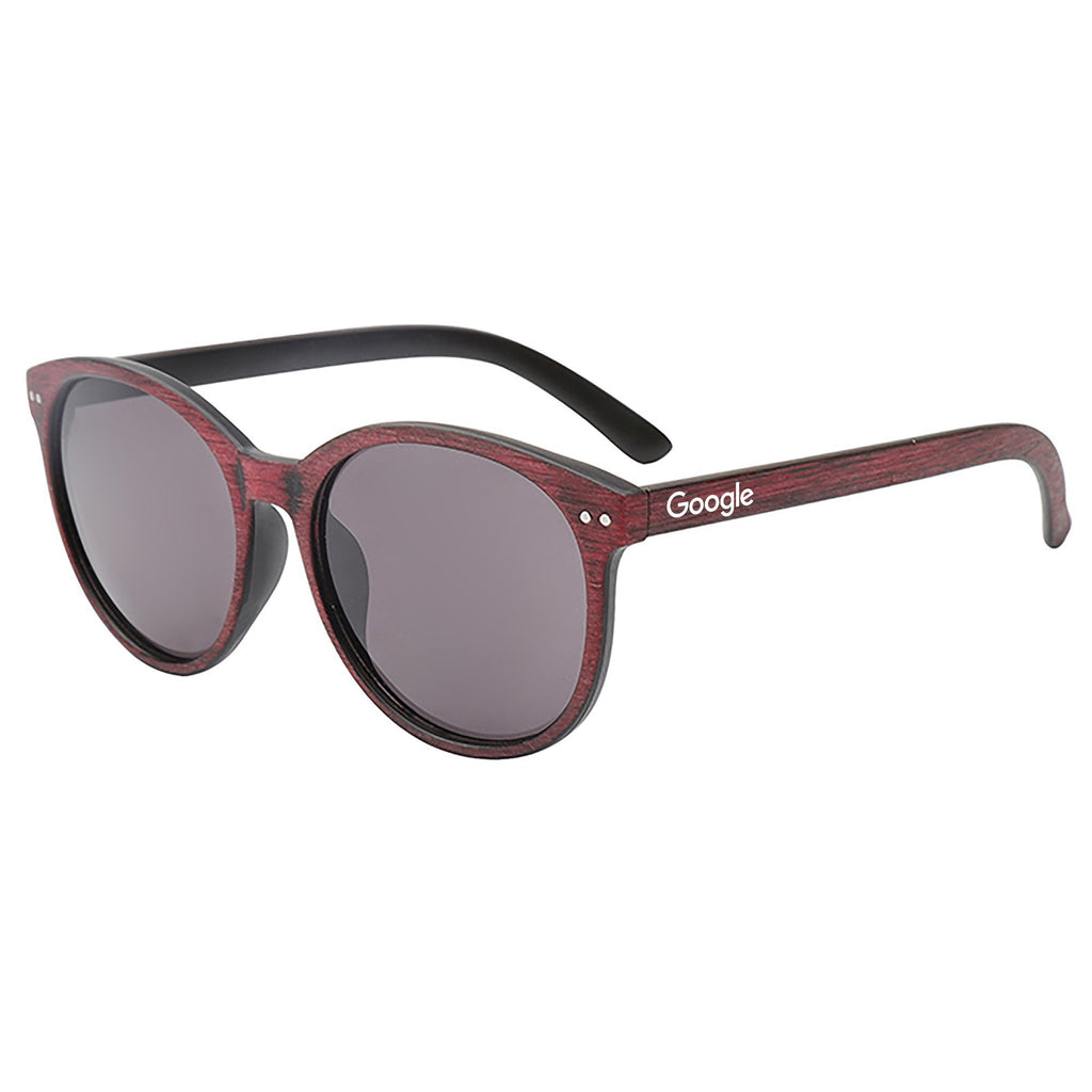 Wynwood - Wood Brushed Dark Lenses Promotional Sunglasses
