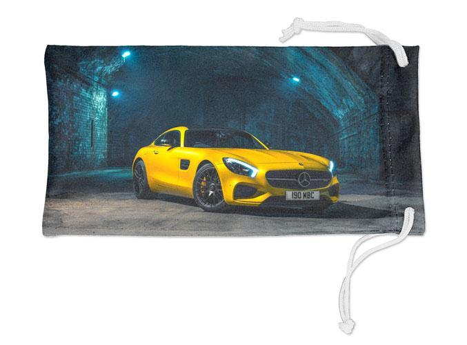 Automotive - Full-Color Microfiber Pouch with Drawstring