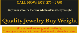 Quality Jewelry Buy Weight