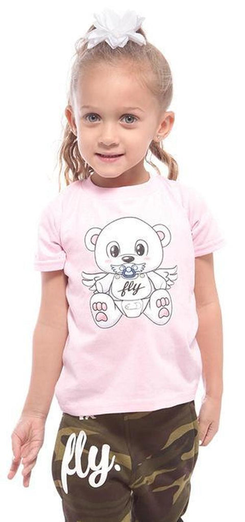 Fly. T: Pink Bear T