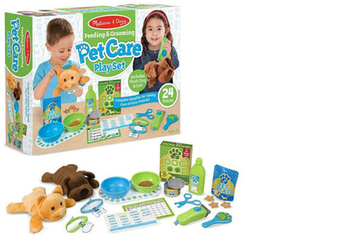 Melissa & Doug Feeding & Grooming Pet Care