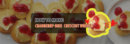 How to make Cranberry-Brie Crescent Wreath