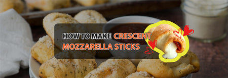 How to make Crescent Mozzarella Sticks