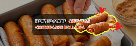 How to make Crescent Cheesecake Roll-Ups