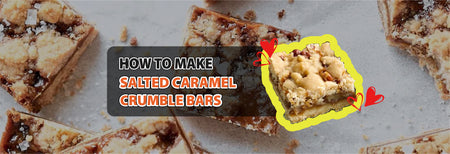 How to make Salted Caramel Crumble Bars