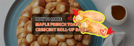 How to make Maple French Toast Crescent Roll-Up Bake.