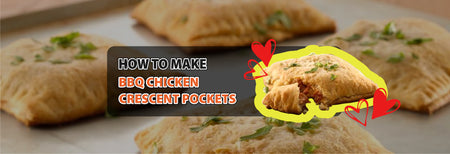 How to make BBQ Chicken Crescent Pockets