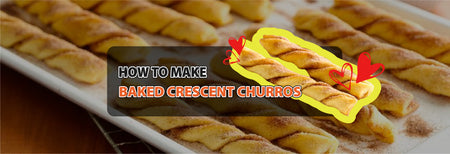 How to make Baked Crescent Churros