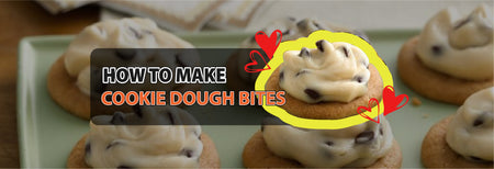 How to make Cookie Dough Bites