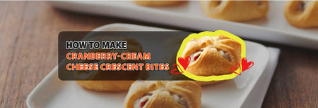 How to make Cranberry-Cream Cheese Crescent Bites