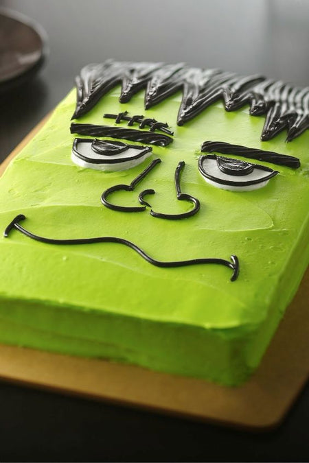 How to Make a Frankenstein cake
