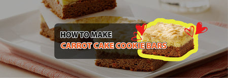 How to make Carrot Cake Cookie Bars