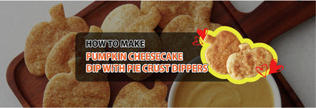How to make Pumpkin Cheesecake Dip with Pie Crust Dippers