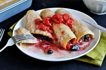 Cherry Cheesecake Chimichangas
