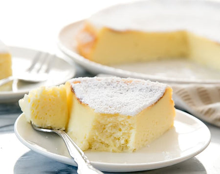Easy Rice-Cooker Fluffy Cheese Cake