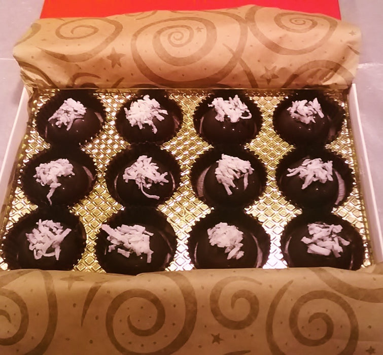 Coconut Mound Porcupine - Haystack / ALL NATURAL / 12 count - Chocolate.org