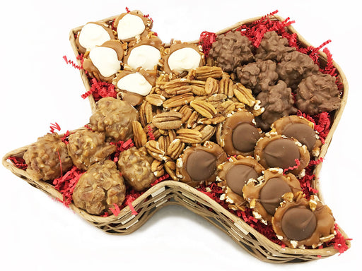 Texas Pecan Candy Basket - Chocolate.org