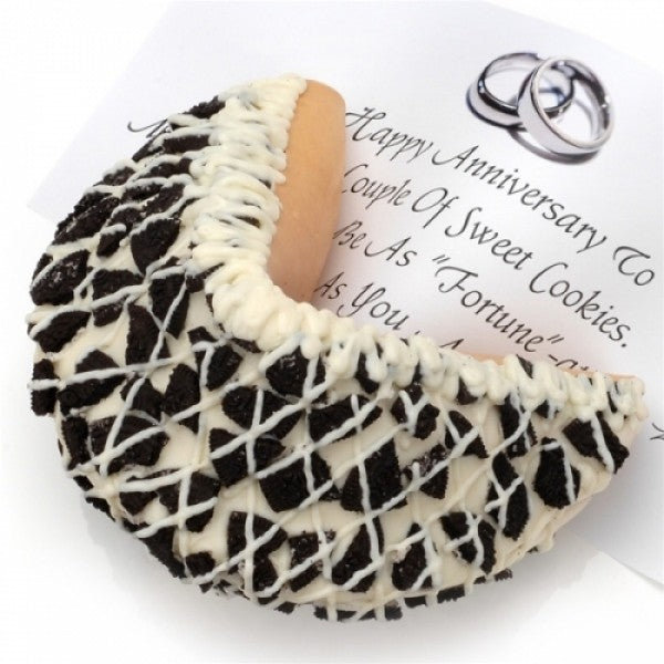 Oreo Cookies N Cream White Chocolate Giant Fortune Cookie