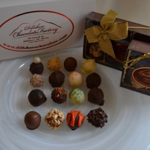 The Pinnacle Orange Crunch Truffle 8 Piece Box