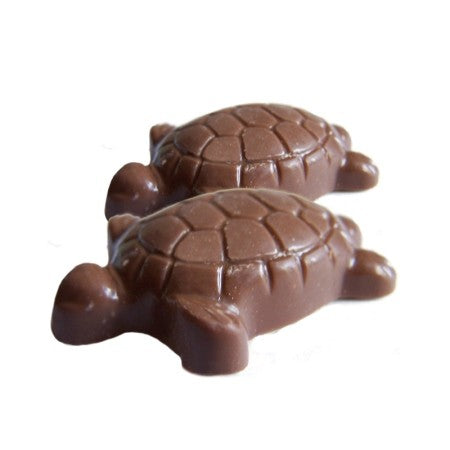 Caramel Turtle in Milk or Dark Chocolate, NUT FREE / ALL NATURAL / 12 count
