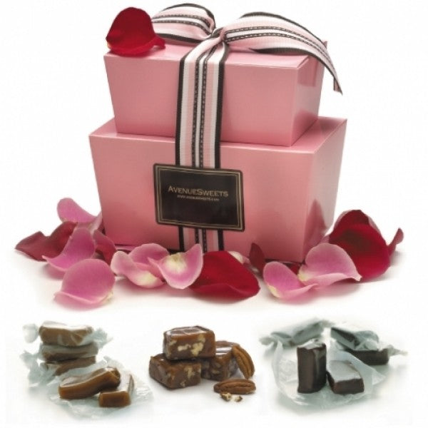 Valentine's Gift Tower - Chocolate.org