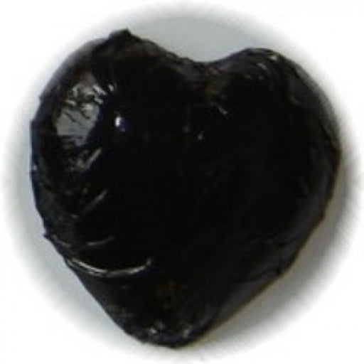 Black Foiled Chocolate Hearts 1 Lb