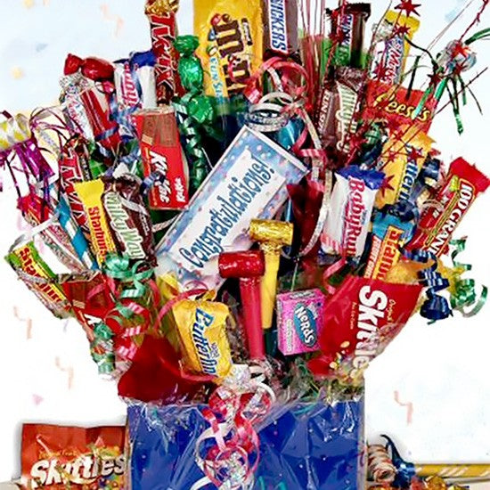 Congratulations Chocolate Gift Basket