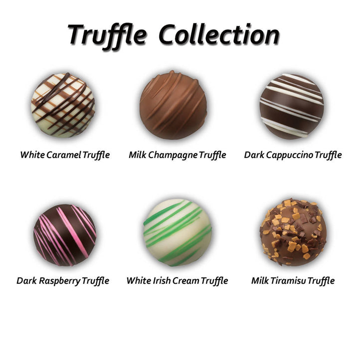 Holiday Decorated Truffle Box
