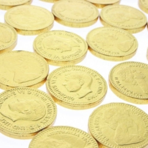 Gold Chocolate Coins 'Pack Of 120' - Chocolate.org
