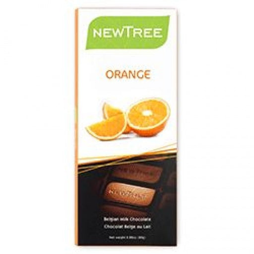 Organic Milk Chocolate With Orange