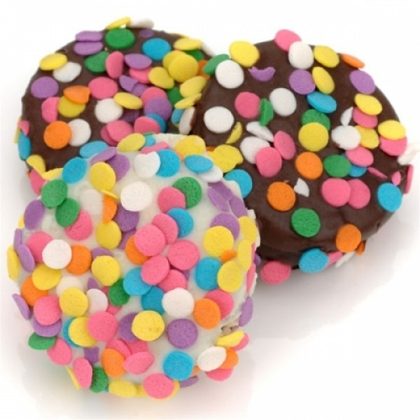 Confetti Chocolate Dipped Oreos - Chocolate.org
